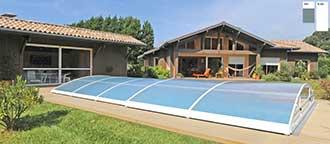 prix d un abri piscine telescopique