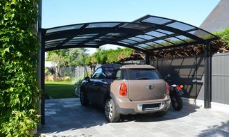 Installation d'un carport
